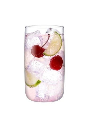 Paşabahçe Iconic 6'Lı Kokteyl Meşrubat Bardağı Renkli